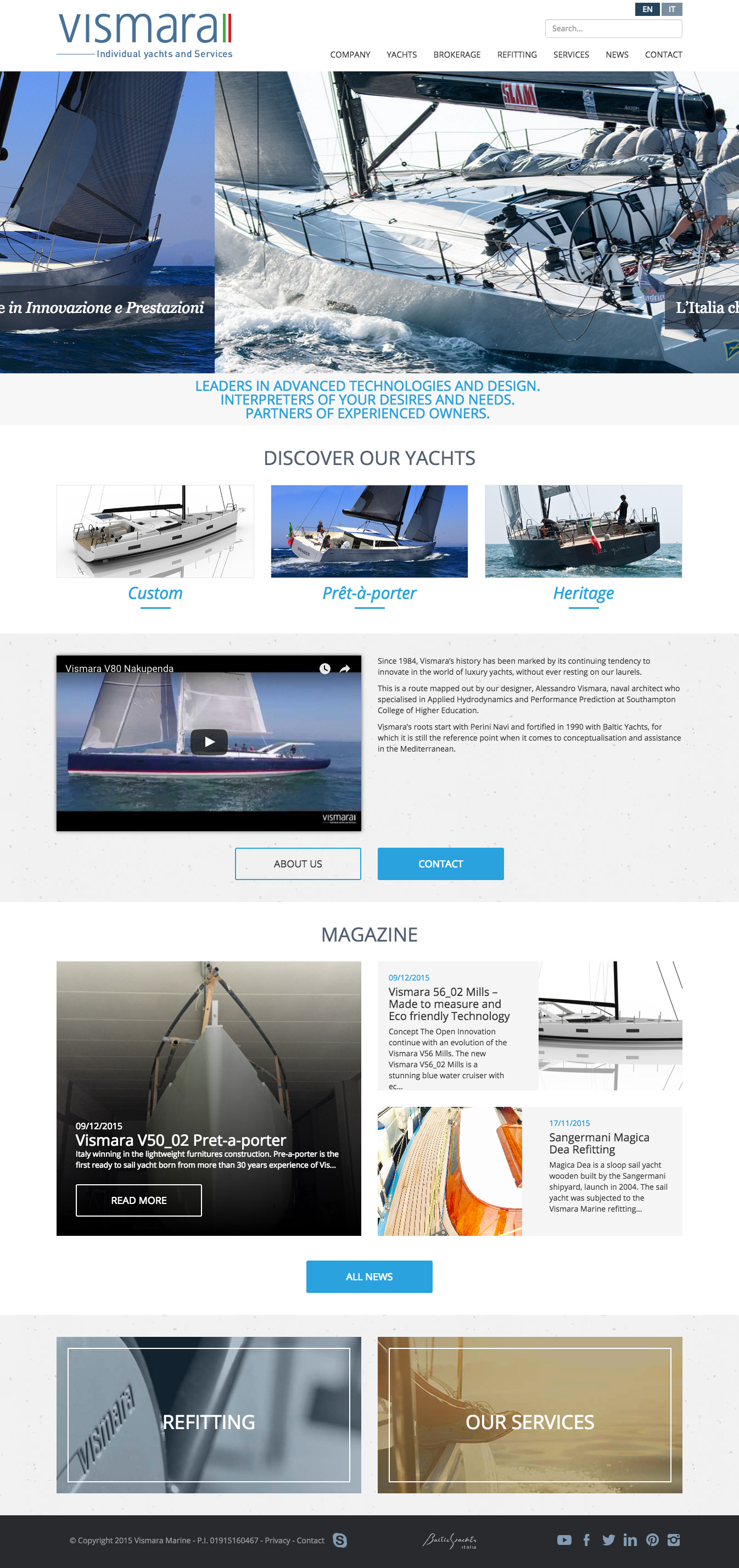 Discover our Yachts